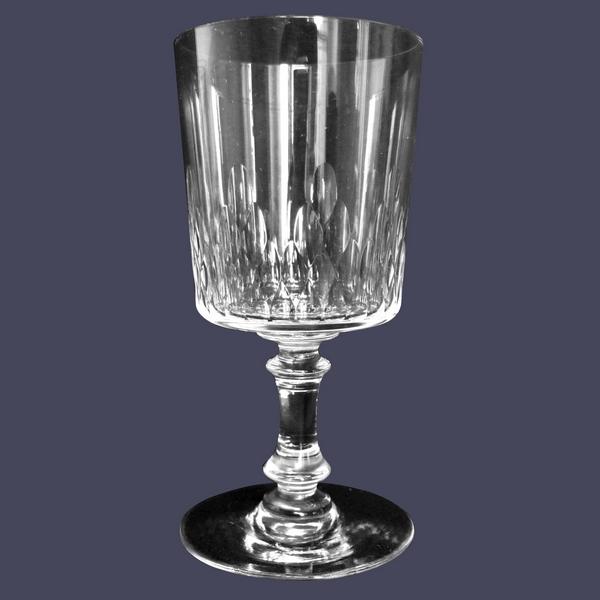 Verre à porto en cristal de Baccarat, modèle Richelieu cylindrique - 10,7cm
