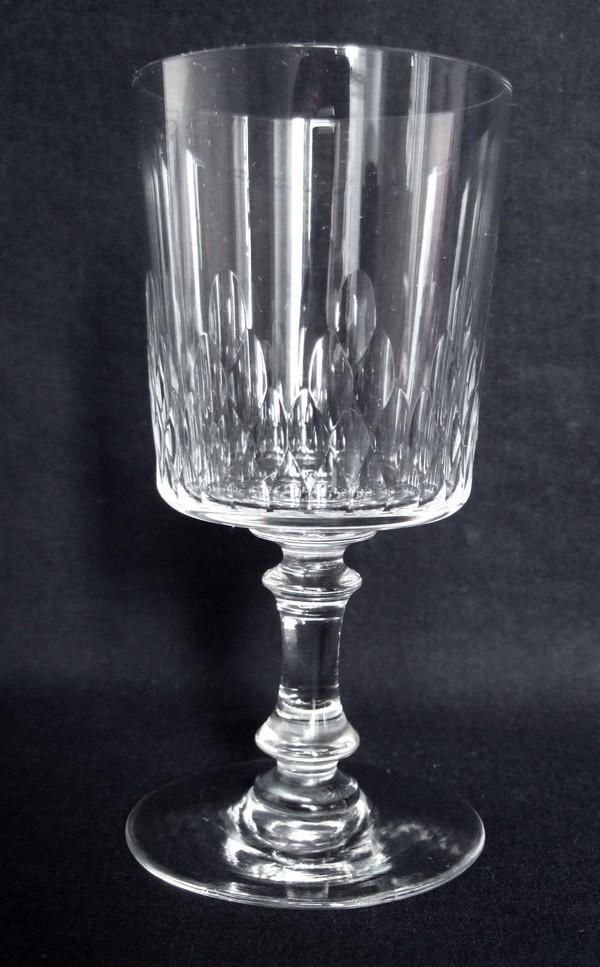 Verre à eau en cristal de Baccarat, modèle Richelieu - 15cm