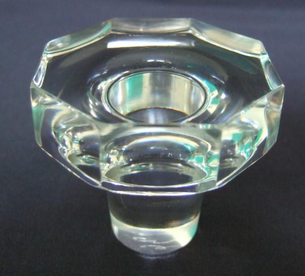 Carafe à vin en cristal taillé de Baccarat, modèle Talleyrand (dérivé d'Harcourt), signé