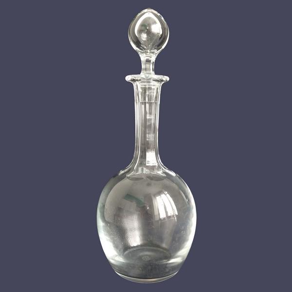 Carafe à vin en cristal de Baccarat - signée