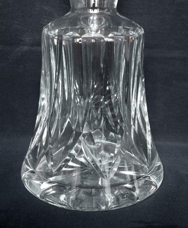 Carafe à vin en cristal de Saint Louis, modèle Camargue - signée