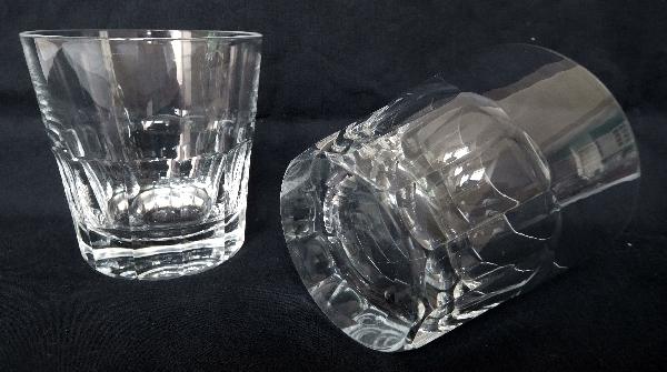 Verre à whisky en cristal de Saint Louis, modèle Caton - signé