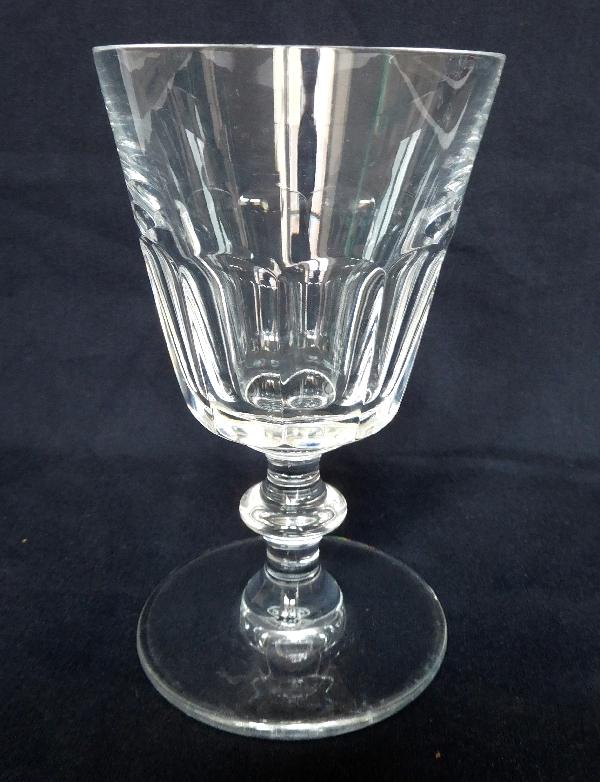Verre à eau en cristal de Saint Louis, modèle Caton - 14cm - signé