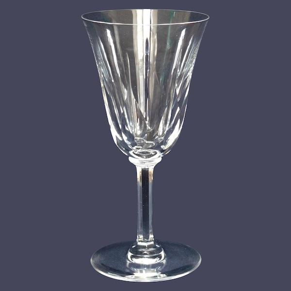 Verre à porto en cristal de St Louis, modèle Cerdagne, 12,9cm, signé