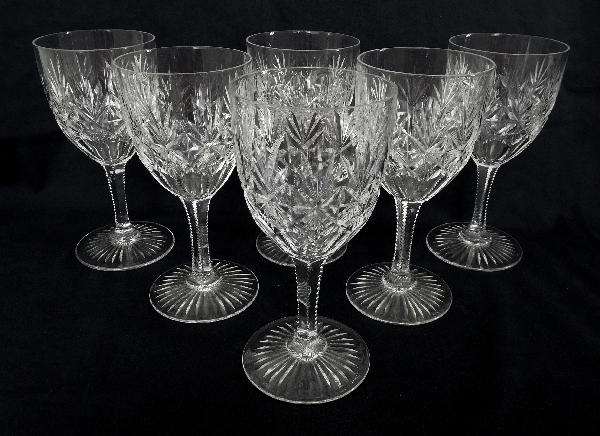 Verre à vin en cristal de Saint Louis, modèle Gavarni - 12,7cm