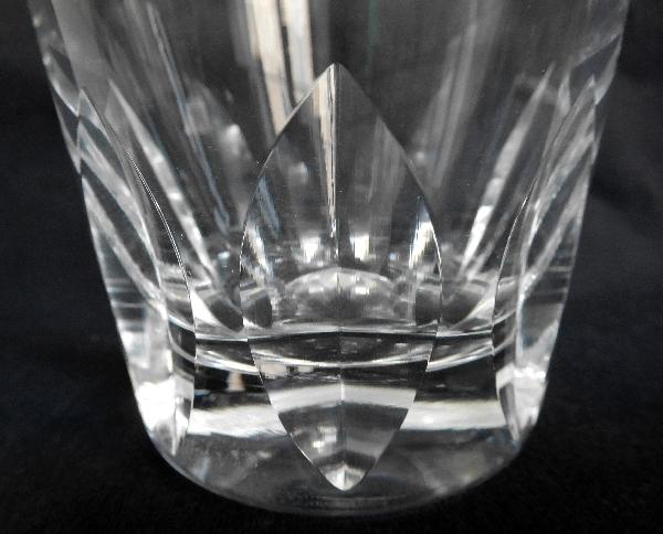 Verre à whisky en cristal de St Louis, modèle Jersey - signé
