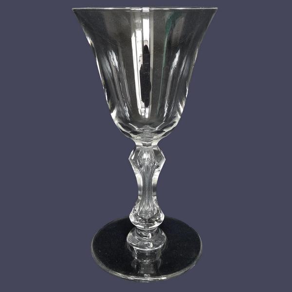 Verre à eau en cristal de St Louis, modèle Lozère - 17cm