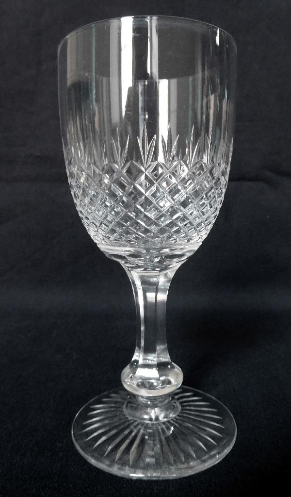 Verre à vin en cristal de Saint Louis, modèle Océan - 12,5cm