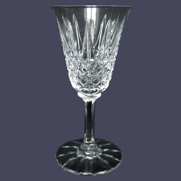 Verre à vin en cristal de St Louis, modèle Tarn - 14cm - signé