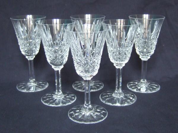 Verre eau en cristal de st louis mod le tarn 16cm sign - Verre saint louis prix ...