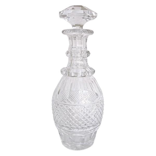 Carafe en cristal de Saint Louis, modèle Trianon