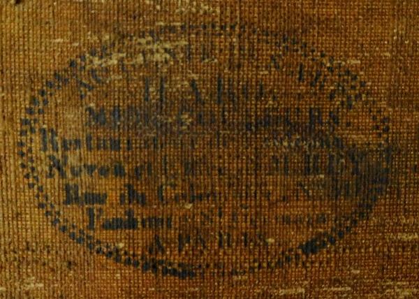 D'Après Horace Vernet, portrait en buste du Général Foy en tenue de député, huile sur toile