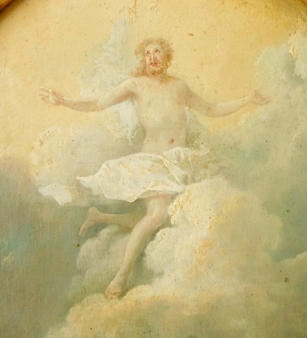 Ecole Française début XVIIIe siècle, la Résurrection du Christ - huile sur panneau
